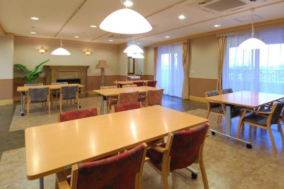 気まま館 柏 3F食堂兼機能訓練室