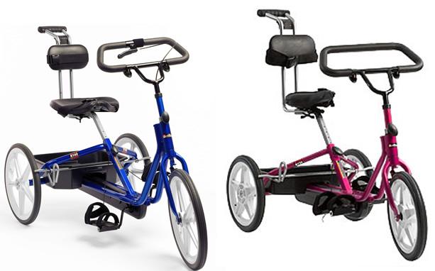 三輪自転車 トライサイクルのサイズとカラー2