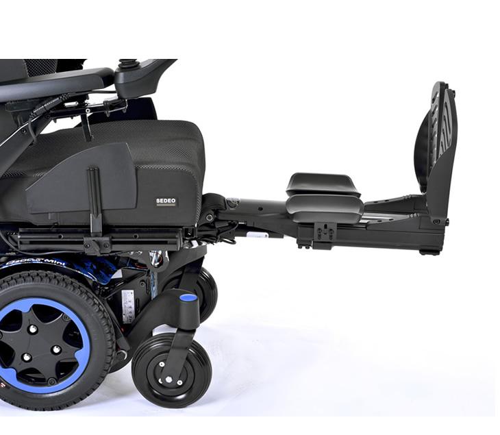 電動エレベーティングレッグサポート 電動車いす クイッキーQ300Mミニ