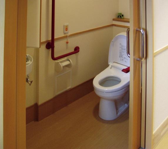 気まま館 柏 間口の広いトイレ