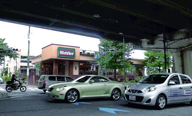 交通事故に遭った桜新町の交差点 高橋様