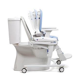 衛生トイレシステム hts バックレストの調節