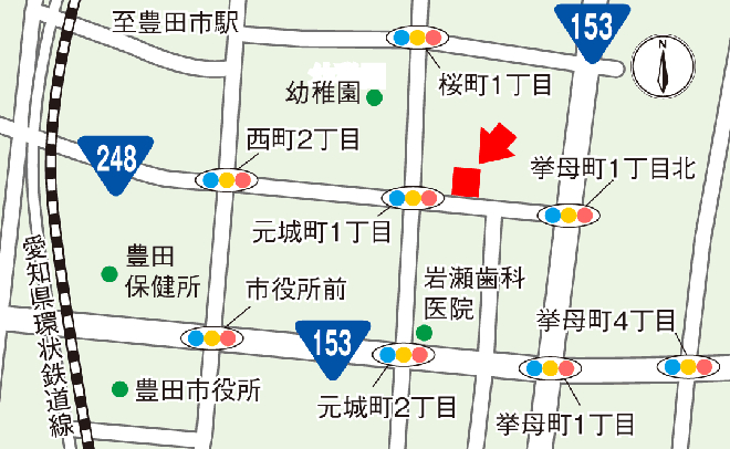 生活リハビリデイセンター アビリティーズ豊田 周辺地図