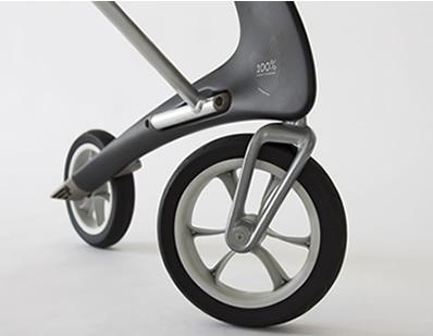 ソフトで快適なポリウレタン製タイヤ スリムライン