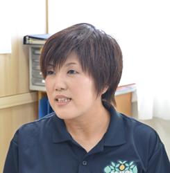 特別養護老人ホーム 金谷みちのく荘 係長 吉田 理絵氏