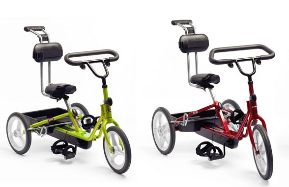 三輪自転車 トライサイクルのサイズとカラー1