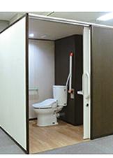 どこにでも設置できる スマートトイレ
