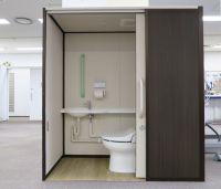 組み立て式の簡単設置トイレ スマートトイレ