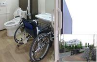 糸島農業高等学校のバリアフリー化に、スマートトイレが設置されました。