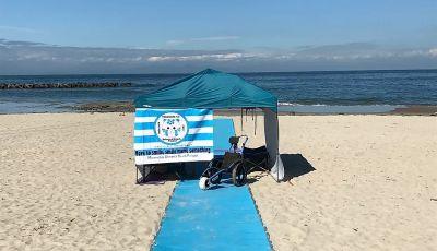 車いすのまま 海岸へ 海へ 南知多ユニバーサルビーチプロジェクト開催